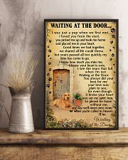 Waiting At The Door Labrador Retriever 11x17 Poster lifestyle-poster-3