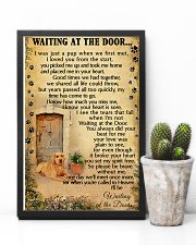 Waiting At The Door Labrador Retriever 11x17 Poster lifestyle-poster-8