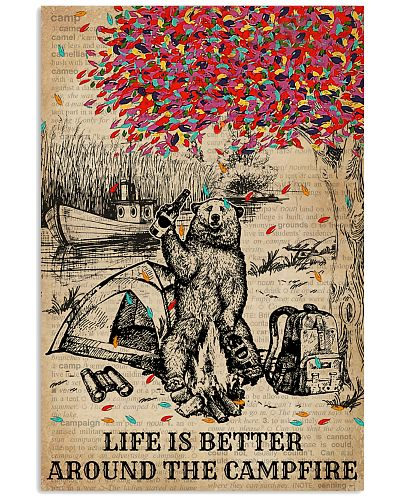 Dictionary Camping Bear Life Is Better