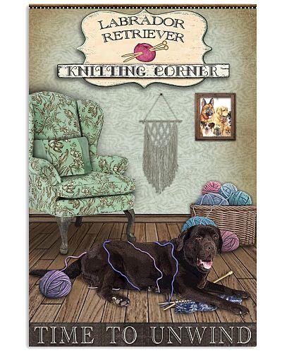 Knitting Corner Labrador Retriever