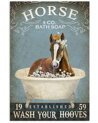 Vintage Bath Soap Horse
