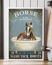 Vintage Bath Soap Horse 16x24 Poster lifestyle-poster-4