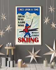 Once Upon A Time Skiing Brown Haired Girl 16x24 Poster lifestyle-holiday-poster-1