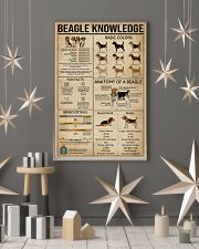 Knowledge Beagle 16x24 Poster lifestyle-holiday-poster-1