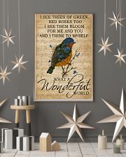 Music Sheet And I Think Bluebird 11x17 Poster lifestyle-holiday-poster-1