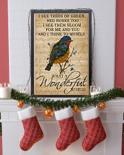 Music Sheet And I Think Bluebird 11x17 Poster lifestyle-holiday-poster-4