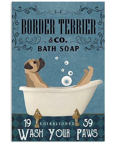 Bath Soap Company Border Terrier