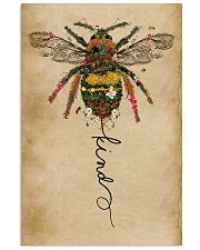 Bee Kind Floral 11x17 Poster front