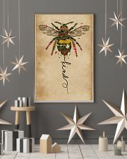 Bee Kind Floral 11x17 Poster lifestyle-holiday-poster-1
