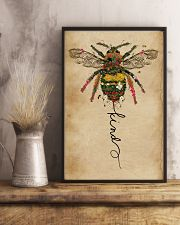 Bee Kind Floral 11x17 Poster lifestyle-poster-3