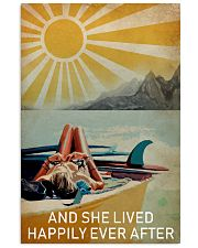 Sun Surfing Girl Lived Happily Full 16x24 Poster front