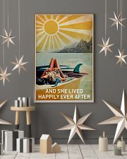 Sun Surfing Girl Lived Happily Full 16x24 Poster lifestyle-holiday-poster-1