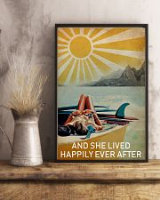Sun Surfing Girl Lived Happily Full 16x24 Poster lifestyle-poster-3
