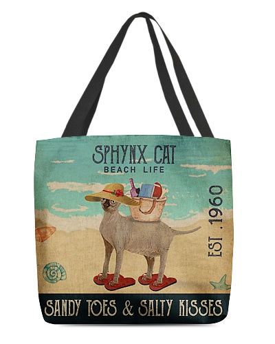 Beach Life Sandy Toes Sphynx Cat