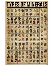 Types Of Minerals 16x24 Poster front