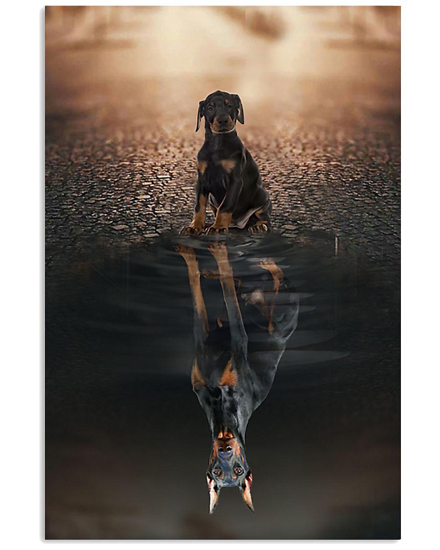 Doberman Pinscher Believe In Yourself 16x24 Poster