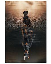Doberman Pinscher Believe In Yourself 16x24 Poster front