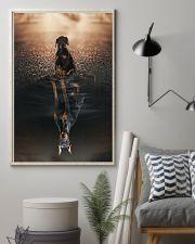 Doberman Pinscher Believe In Yourself 16x24 Poster lifestyle-poster-1