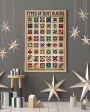 Types Of Quilt Block 11x17 Poster lifestyle-holiday-poster-1