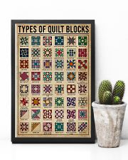 Types Of Quilt Block 11x17 Poster lifestyle-poster-8