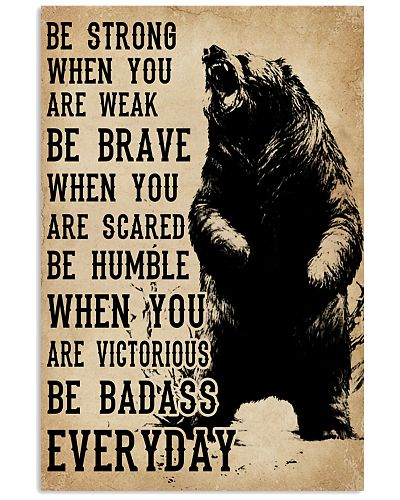 Be Strong When You Are Weak Bears