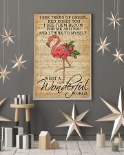 Music Sheet And I Think Flamingo 16x24 Poster lifestyle-holiday-poster-1
