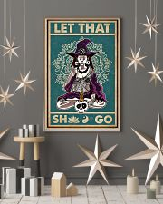 Retro Let That Witch Yoga 11x17 Poster lifestyle-holiday-poster-1