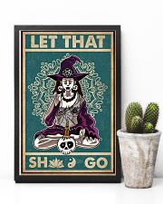 Retro Let That Witch Yoga 11x17 Poster lifestyle-poster-8