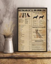 Australian Cattle Dog Knowledge 11x17 Poster lifestyle-poster-3