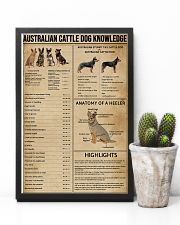 Australian Cattle Dog Knowledge 11x17 Poster lifestyle-poster-8