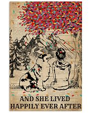 Dictionary Girl Happily Ever Australian Shepherd 11x17 Poster thumbnail