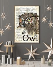 Dictionary Poster Owl 11x17 Poster lifestyle-holiday-poster-1