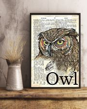 Dictionary Poster Owl 11x17 Poster lifestyle-poster-3