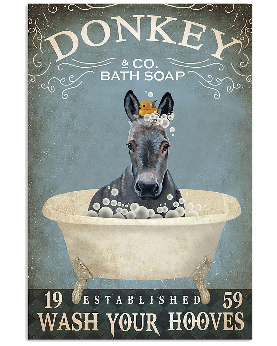Vintage Bath Soap Donkey  11x17 Poster