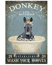 Vintage Bath Soap Donkey  11x17 Poster front