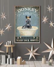 Vintage Bath Soap Donkey  11x17 Poster lifestyle-holiday-poster-1