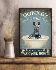 Vintage Bath Soap Donkey  11x17 Poster lifestyle-poster-3