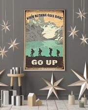 When Nothing Goes Right Trekking 11x17 Poster lifestyle-holiday-poster-1