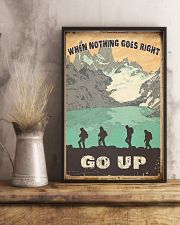 When Nothing Goes Right Trekking 11x17 Poster lifestyle-poster-3
