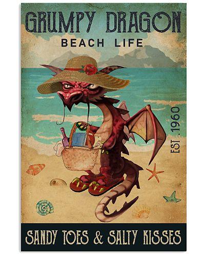 Beach Life Sandy Toes Grumpy Dragon