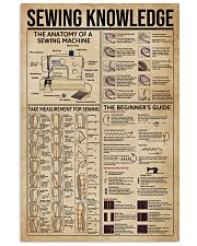 Sewing Knowledge 16x24 Poster front
