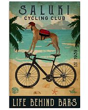 Cycling Club Saluki 11x17 Poster front