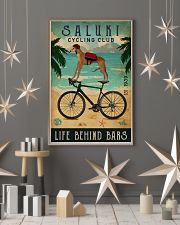 Cycling Club Saluki 11x17 Poster lifestyle-holiday-poster-1