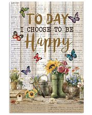 Pallet Garden Choose To Be Happy Butterfly 11x17 Poster front