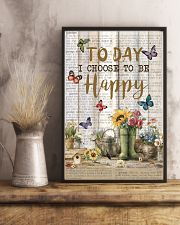 Pallet Garden Choose To Be Happy Butterfly 11x17 Poster lifestyle-poster-3