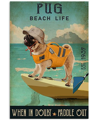 Canoe Kayak Paddle Out Pug