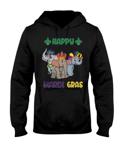 Happy Pawdi Gras Elephant
