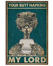 Your Butt Napkins My Lord Alpaca 16x24 Poster front