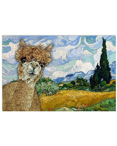 Wheat Field Alpaca