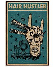 Retro Hair Hustler Hairstylist 11x17 Poster front